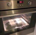 Faire cuire la crème brulée au four entre 90-95°C