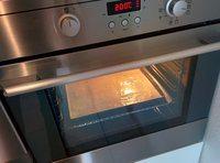 Cuire le biscuit cuillère à 200°C 15-20 min
