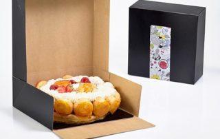 Emballages pour pâtisserie en kraft naturel, made in France !