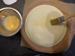 Dorer à l'œuf entier en 2 fois