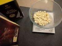 Peser le chocolat à tempérer