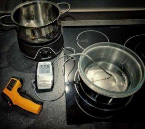 Tester conservation du chocolat à 31°C