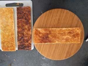 Découper la pâte feuilletée