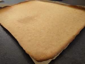 Biscuit joconde cuit
