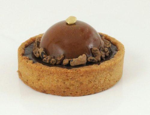Recette tartelette au chocolat et mousse lactée caramel