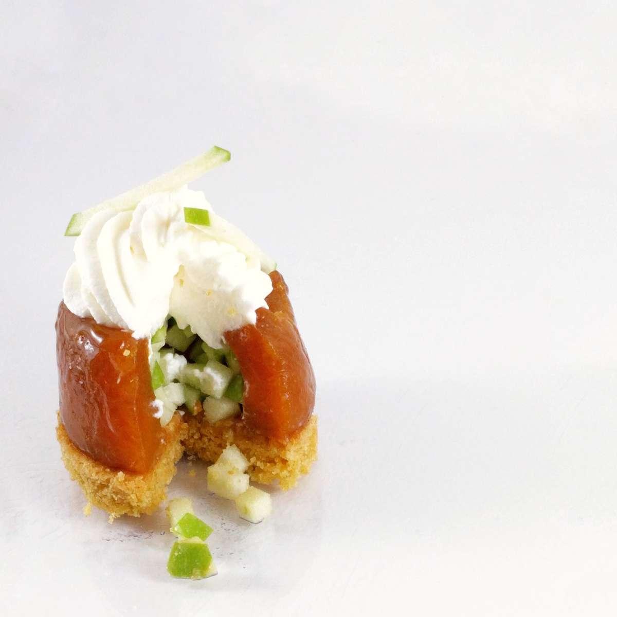 tarte aux pommes revisitées