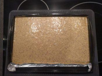 Cuire votre biscuit joconde noisette à 200°C environ une quinzaine de minutes