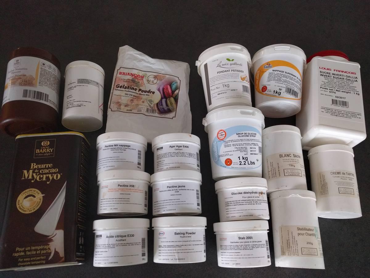 Additifs pour la pâtisserie à Grenoble
