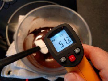 """Porter à la température de """"fonte"""" en remuant régulièrement"""