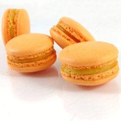 Macaron à l'abricot