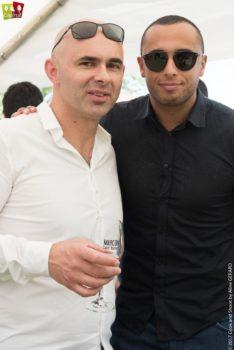 Angelo Musa & Yazid Ichemrahen à la journée Capfruit