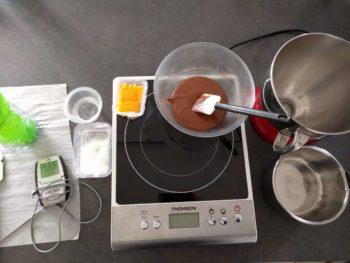Préparer tous les ingrédients avant de démarre cette mousse
