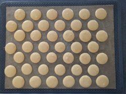 Macarons aux épices de Noël prêt à cuire