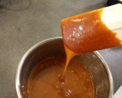 Caramel au beurre salé prêt à être consommé !