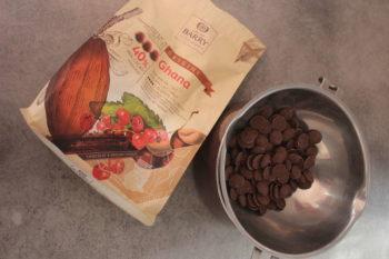 faire fondre le chocolat en lait