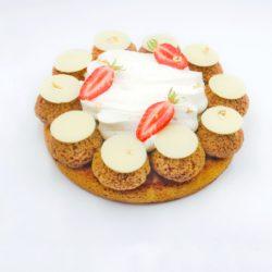 Recette Saint Honoré vanille fraise