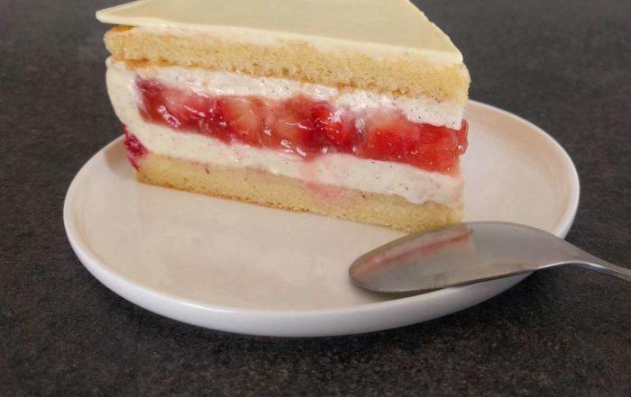 Recette du fraisier à la crème légère diplomate