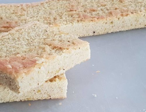 Recette pain de gênes pistache