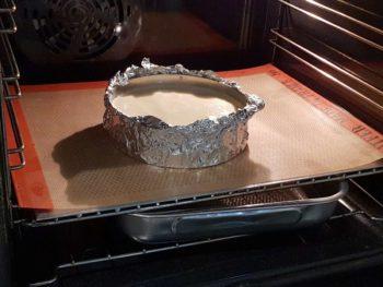 Faire cuire à feu doux avec un récipient d'eau à proximité