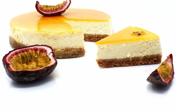 Recette du cheesecake aux fruits de la passion