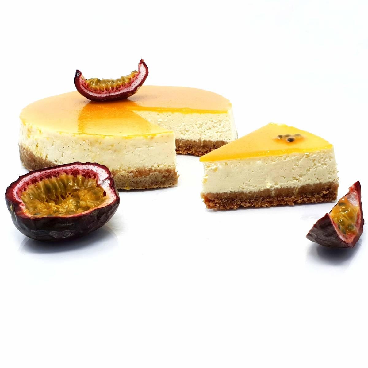 Recette du cheesecake aux fruits de la passion