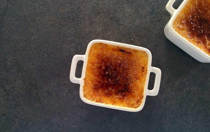 Recette de la crème brûlée maison