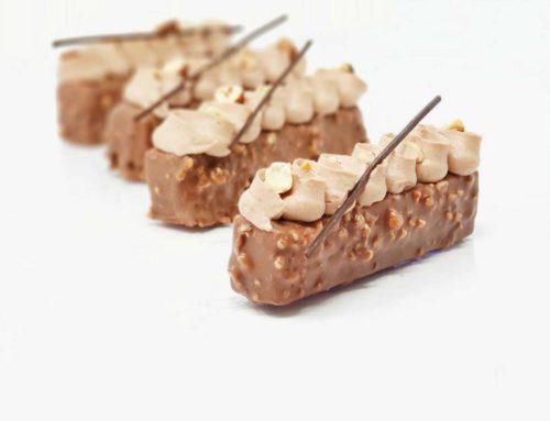 Entremets Chocolat Praliné Noisette (format barre snacking)