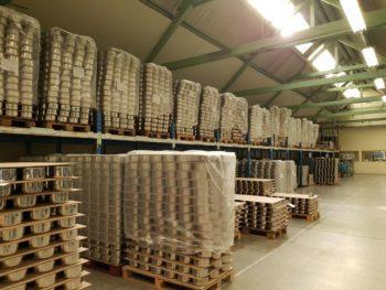 Stockage de la production en cours