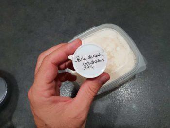 Cette fois-ci, j'ai utilisé de la perle de vanille d'Eurovanille, un mélange d'extrait de gousses de vanilles de madagascar et les graines de vanilles.