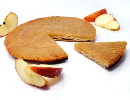 Recette de la tarte fine aux pommes (avec pâte feuilletée)