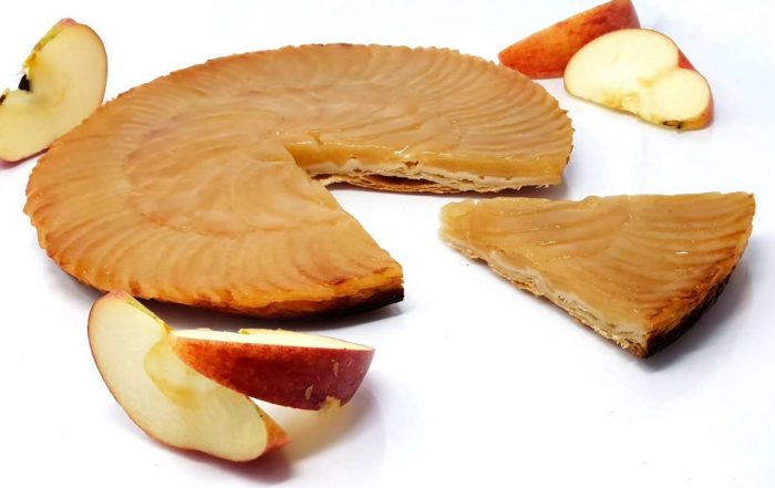 Recette de la tarte fine aux pommes caramélisées