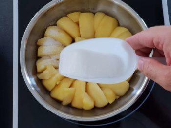 Saupoudrer d'un peu de sucre