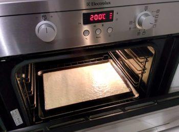 Enfourner à 200°C
