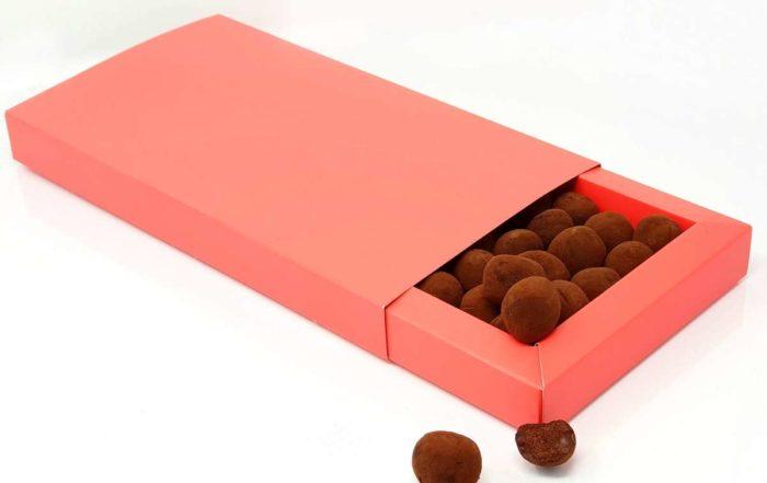 Recette traditionnelle des truffes en chocolat (Emballage par Les Toques des Boites)
