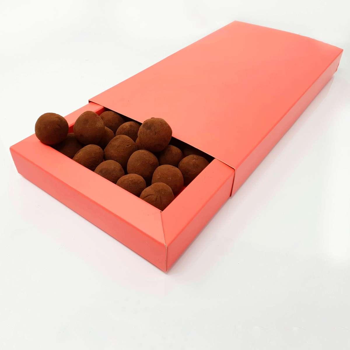 Recette traditionnelle des truffes en chocolat