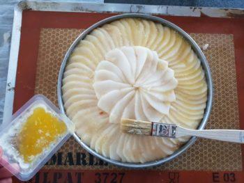 Badigeonner de beurre clarifié