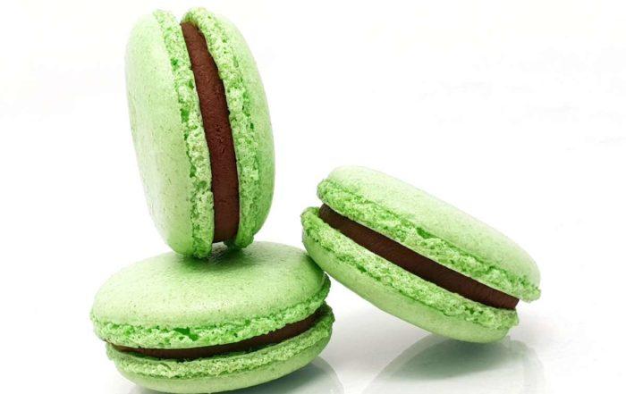 Recette du macaron au chocolat menthe (façon After Eight)