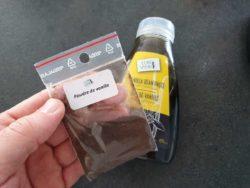 Je préfère les gaufres liégeoises avec une bonne dose de vanille, ici de la poudre d'Eurovanille