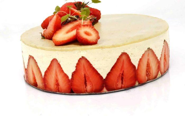 recette fraisier creme mousseline