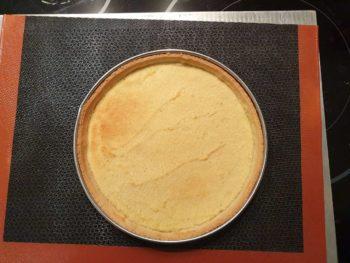 Cuire votre pâte sucrée jusqu'à coloration