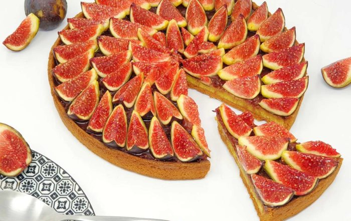 Recette de la tarte aux figues