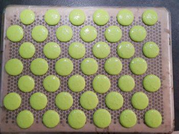 Pochage des macarons