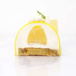 Recette de la bûche citron meringuée