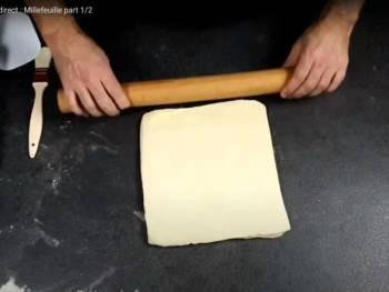 Faire un quart de tour, abaisser un peu votre pâton, filmer et laisser reposer minimum 30 min au frais et renouveler l'opération autant de fois que nécessaire.
