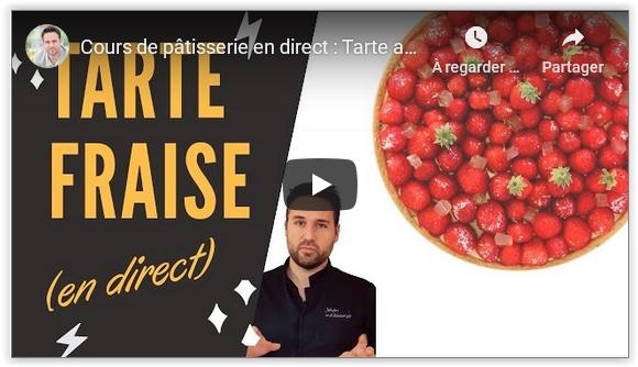 Vidéo tarte aux fraises