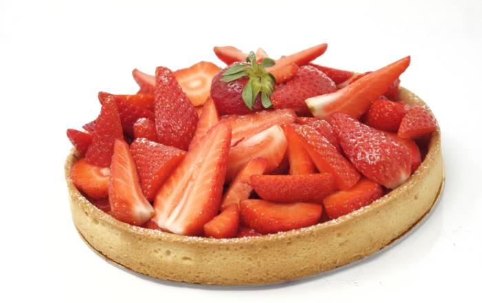 Tarte au fraise facile et rapide