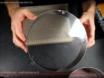 Filmer un cercle de 22/24 cm comme un tambour