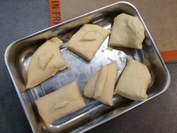 Découper votre pâte à pain au lait