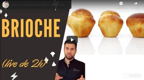 Recette Brioche Mousseline en vidéo