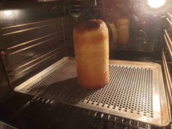 Continuer à cuire à chaleur modérée (~170°C) encore ~ 20 min
